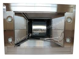 30 island stainless steel range hood vent charcoal filter kitchen