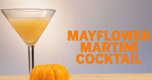 drink recipes mayflower martini for thanksgiving islands