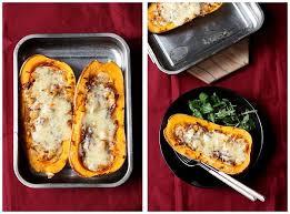 comment cuisiner les butternuts recette de courge butternut rôtie au four aux oignons lardons et