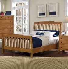 Oak Sleigh Bed Appalachian Hardwood Light Solid Oak Sleigh Bed 312 Sleigh Bed