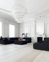 30 black u0026 white living rooms that work their monochrome magic