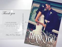 wedding thank you postcards thank you postcards custom printed with personal message 2522841