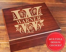 engravable keepsake box engraved wood box etsy