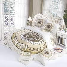 Louis Vuitton Bed Set Bedroom Furniture Versace Bedding Set Modern Beautiful Design