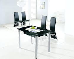 Large Glass Dining Tables Medium Glass Dining Table Small Glass Table And Two Chairs Mini