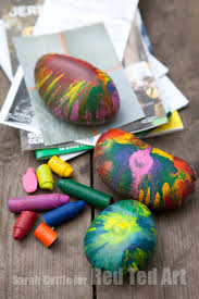 melted crayon rocks gifts that kids can make red ted art u0027s blog