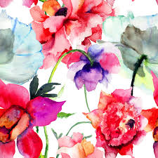 Peony Flowers by Peony Flowers Watercolor Jigsaw Puzzle In Flowers Puzzles On