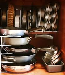 kitchen cupboard storage pans 11 clever and easy kitchen organization ideas you ll