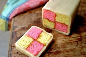 foodista how to make battenberg tea cake for mother u0027s day