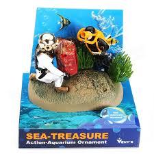 aquarium decoration air aquarium ornament undersea tug of