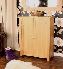 Oak Shoe Storage Cabinet Oak Shoe Cupboard