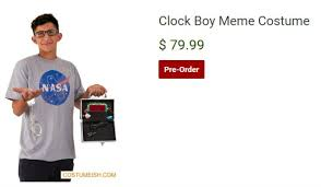 there are halloween costumes for ahmed mohamed and donald trump u0027s