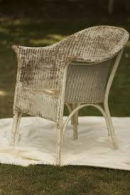 Lloyd Loom Bistro Table These Are Almost My Chair Mine Is Lower To The Ground Hmmm