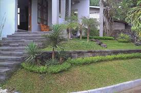Sloped Backyard Ideas Download Front Yard Landscaping Ideas On A Slope Homeform