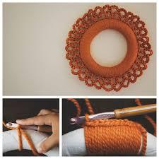 crochet halloween wreath fifty fall wreath ideas u0026 inspiration for the entire autumn season