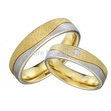 wedding bands for couples gold color hypoallergenic health titanium cheap wedding bands
