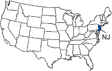 jersey area code map jersey area codes