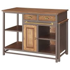 Industrial Kitchen Islands Donny Osmond Home Home Accents Industrial Kitchen Island With Pull