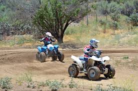 dirt wheels magazine polaris outlaw 90 vs suzuki quadsport z90