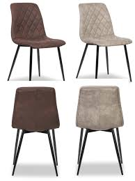 chaise capitonn e grise chaises contemporaines pas cher