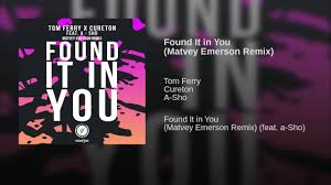 Sho Emeron found it in you matvey emerson remix