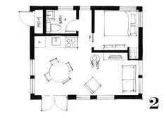 Studio Apartment Layout 400 Ft2 37 2 M2 Studio Cottage With Sleeping Loft By Smallworks