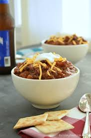 classic crockpot chili the schmidty wife
