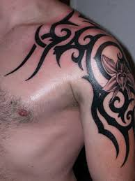 men shoulder tattoos
