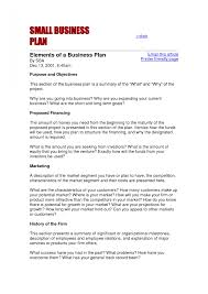 business plan template for small business business plan cmerge
