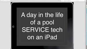 a day in the life of a pool service tech on an ipad youtube