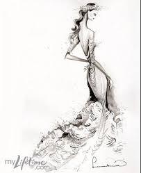 the artsy fashion guy u2022 project runway wedding dress sketches