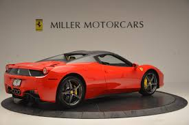 used 458 spider 2013 458 spider stock 4341 for sale near greenwich ct