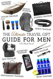 travel gifts images The ultimate travel gift guide for men the blonde abroad jpg