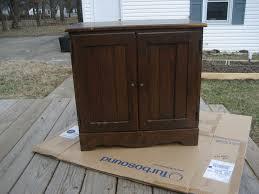 repurposed cabinet door learn and go