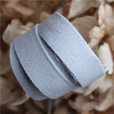 cotton ribbon cotton ribbon shell grey