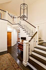 Staircase Banister Portland Stair Banister Ideas Staircase Traditional With Console