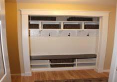 mudroom in a closet home design