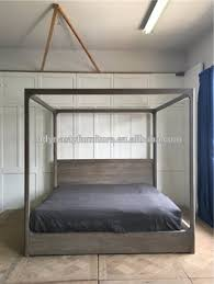 2017 new model latest double 4 poster wooden bed designs buy bed