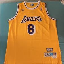 60 off adidas other throwback kobe bryant 8 lakers jersey from