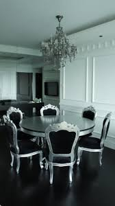 Silver Dining Chairs Remarkable Silver Dining Table And Chairs Excellent Home Design