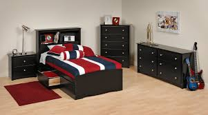 Black Bedroom Furniture Decorating Ideas Bedroom Sets Lauran Black Twin Size Bedroom Set Newlotsfurniture