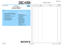 sony dsc rx100 ver1 1 level2 service manual download schematics