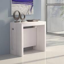 Schmaler Pc Tisch Designer Moderne Ausziehbare Konsolentische Arredaclick