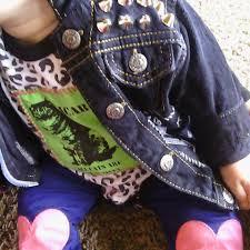 upcycled punk rock feminist unisex baby clothing by itsypunx