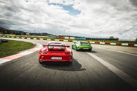 lexus vs mercedes race 2018 porsche 911 gt3 vs 2018 mercedes amg gt r love at first