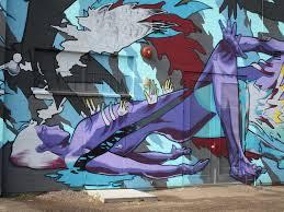 urban street art close up mural on exterior wall of film flickr close up mural on exterior wall of filmbar lounge