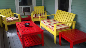 ana white my modern outdoor patio collection diy projects