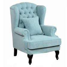 wingback chair blue velvet catchy wingback chair in victorian era
