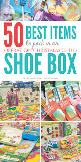 12 Best Awesome Service To Attend Images On Pinterest Awesome 50 Best Items To Pack In An Operation Christmas Child Shoebox