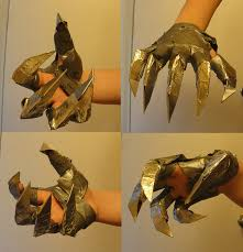 metal claws claw glove by accelsier on deviantart